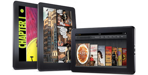 Amazon Kindle Fire tablet, medialaite