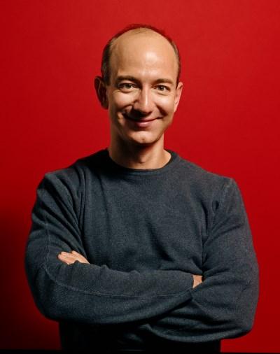 Jeff Bezos, press photo