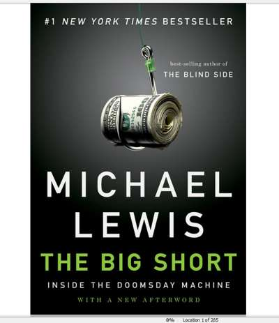 Big Short, Michael Lewis
