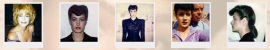 Sean Young, Blade Runner Polaroids