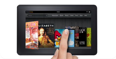 Amazon Kindle Fire media tablet