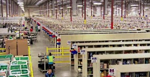Amazon logistiikkakeskus