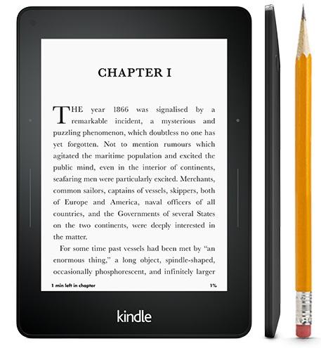 Amazon Kindle Voyage, lukulaite