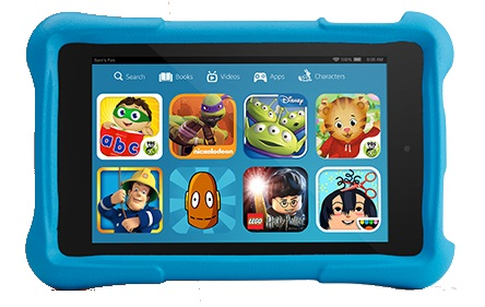 Amazon Fire HD Kids Edition, tablet lapsille