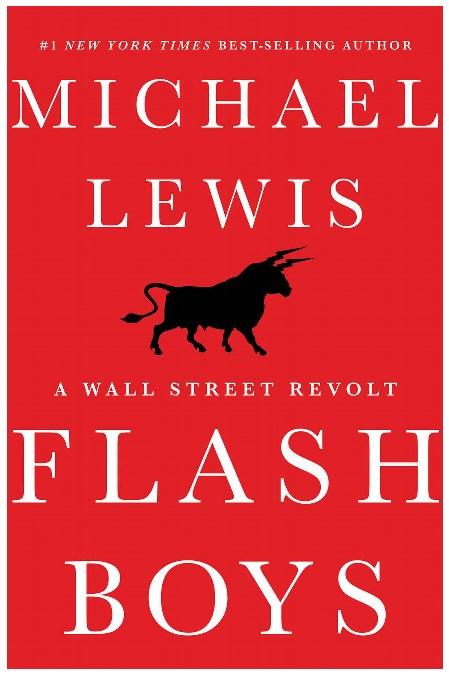 Flash Boys, kirjan kansikuva