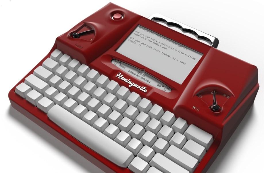 Hemingwrite kirjoituskone
