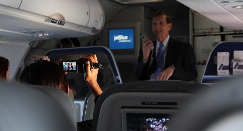 Jetblue Fly-Fi, photo Jeff Cutler