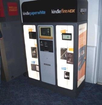 Kindle Kiosk by Geekwire