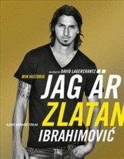 zlatan ibrahimovic elämäkerta, kirjan kansi