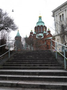 uspensk cathedral in helsinki