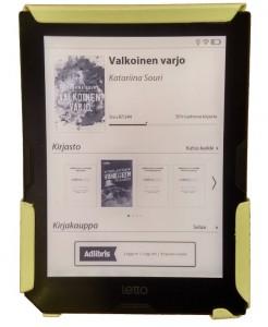 adlibris letto e-kirjojen lukulaite