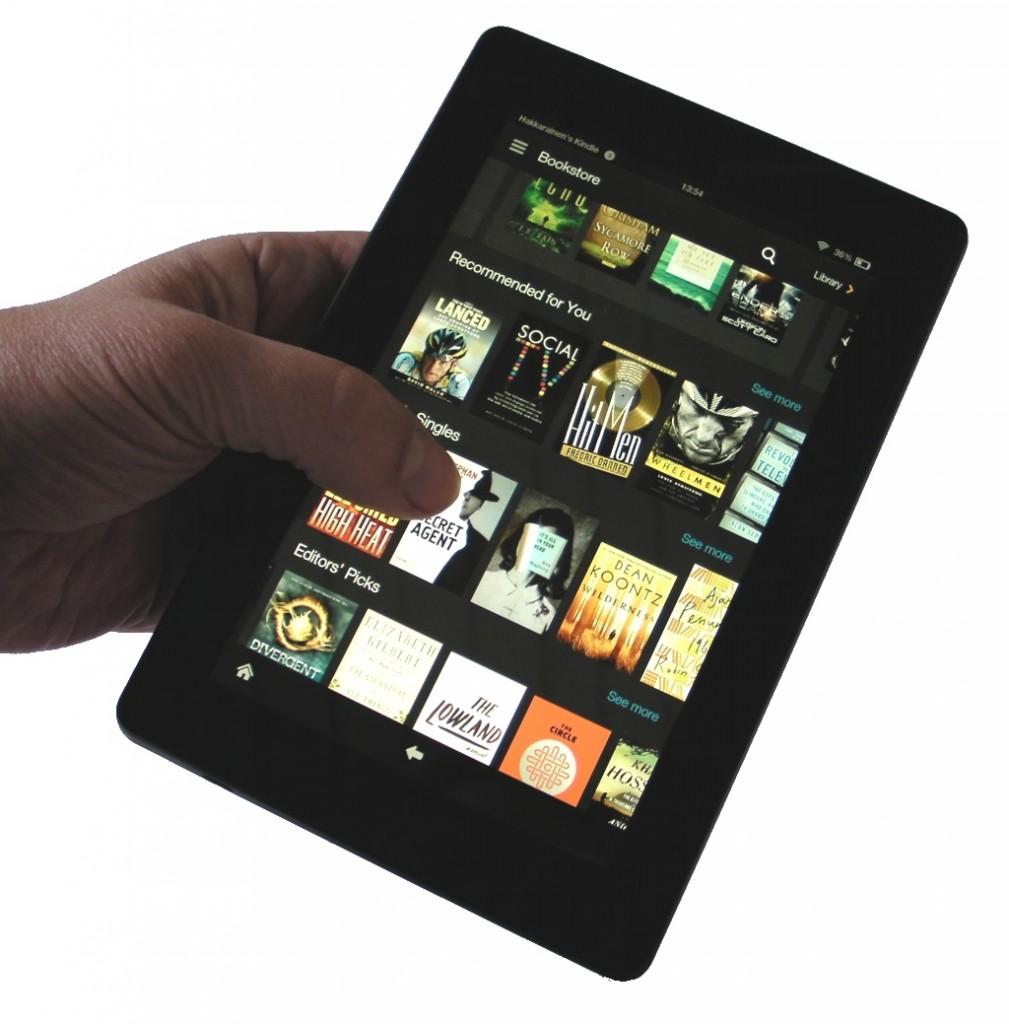 e-kirjakauppa tabletilla