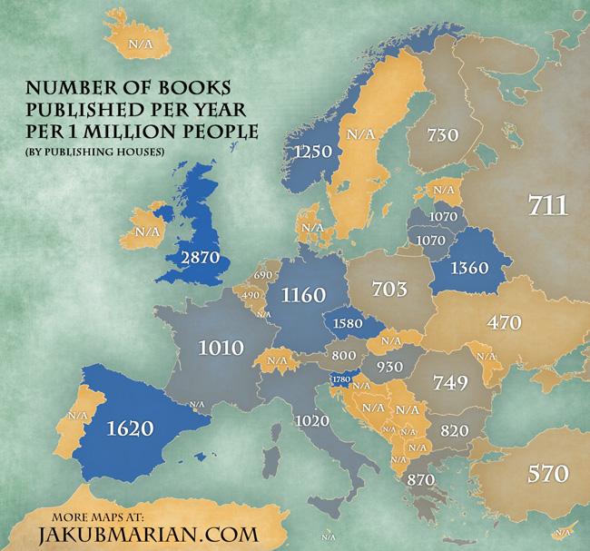 books published per capita, jakub marian
