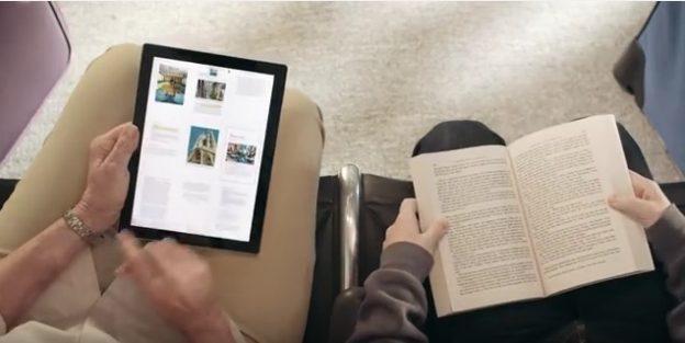 paperikirja ja sähköinen kirja