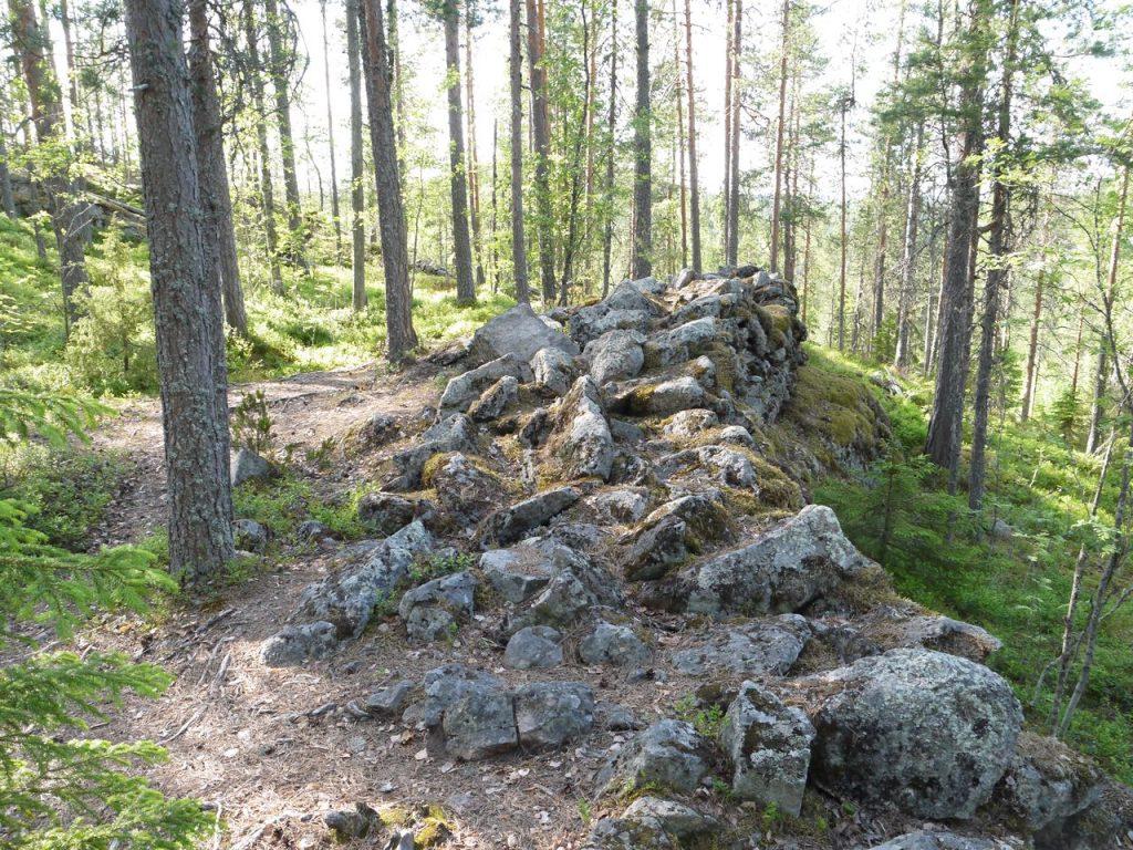 pisamalahti kivimuuria