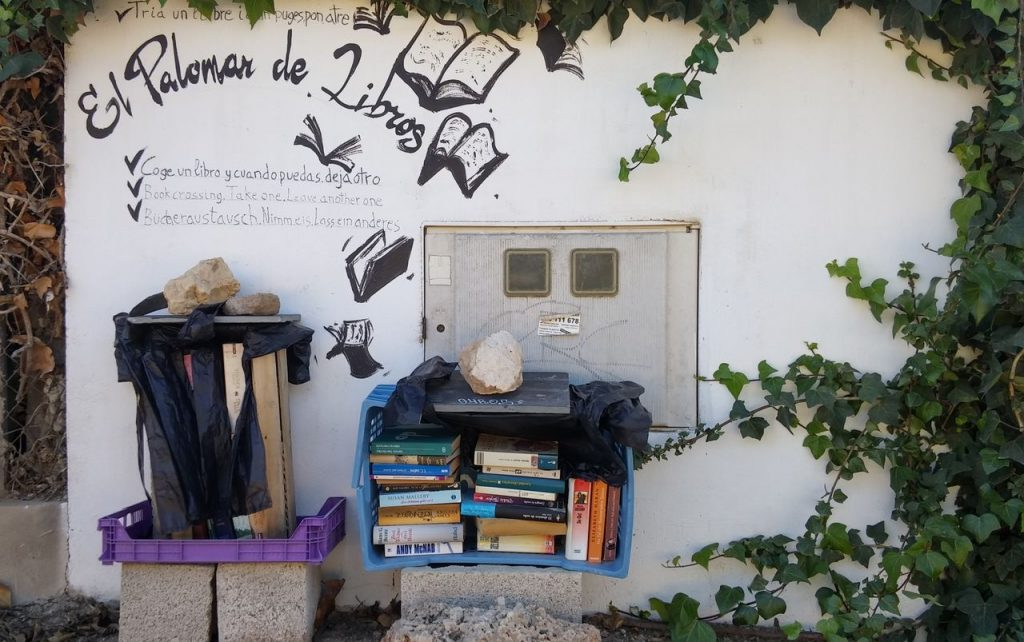 Guardamar, Espanja, Bookcrossing-kirjasto