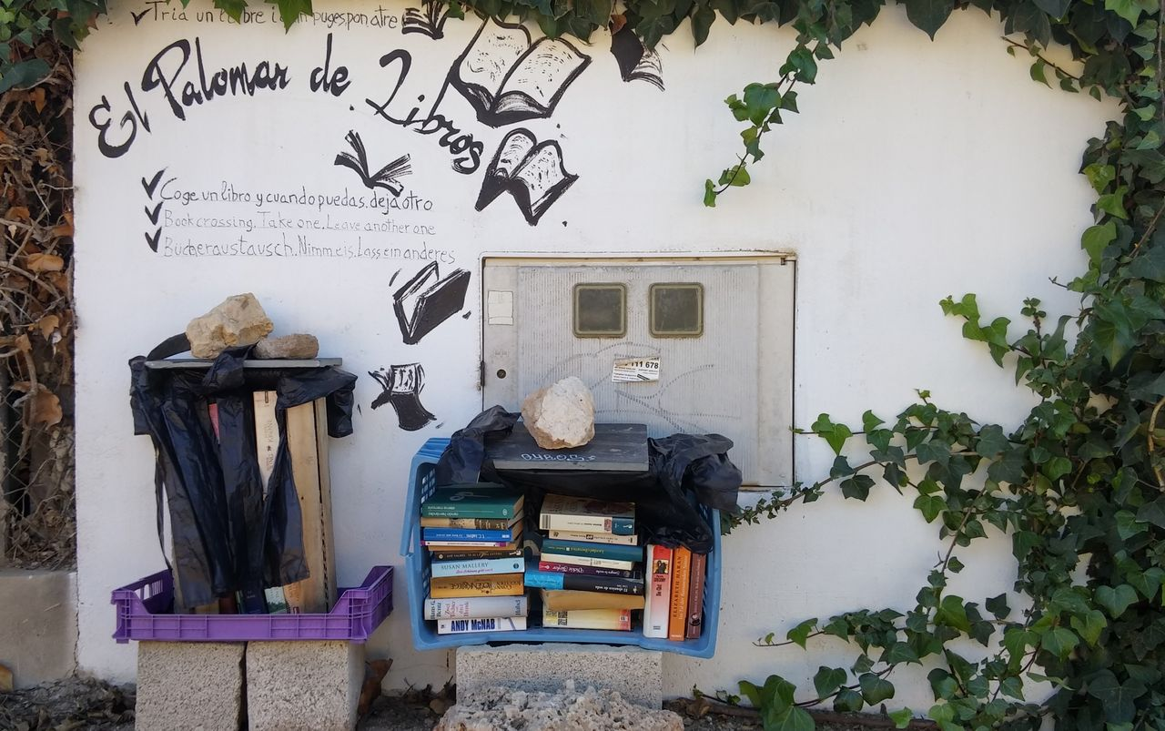 Guardamar, Espanja, Bookcrossing-kirjasto