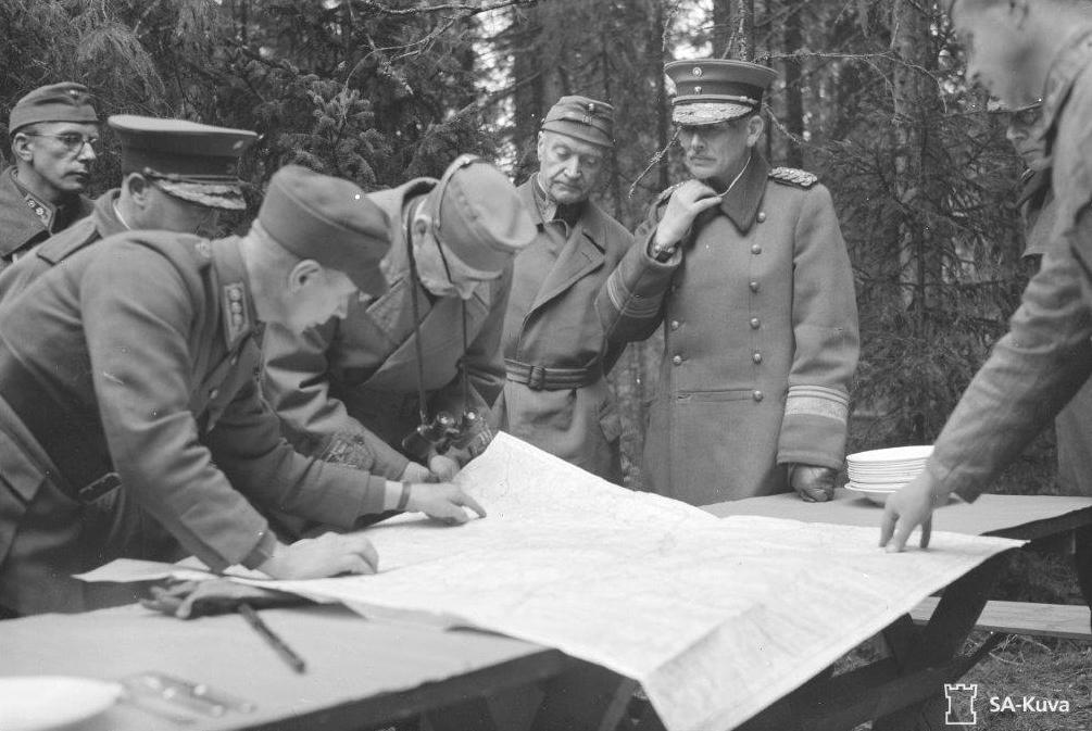 Suomen armeijan valokuva-arkistosta