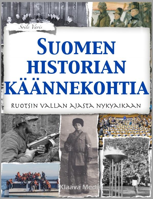 Suomen historian käännekohtia -kirjan kansikuva