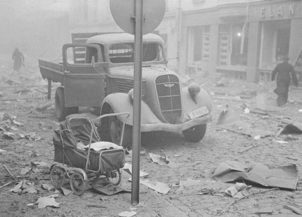 Helsingin pommitus, toinen maailmansota