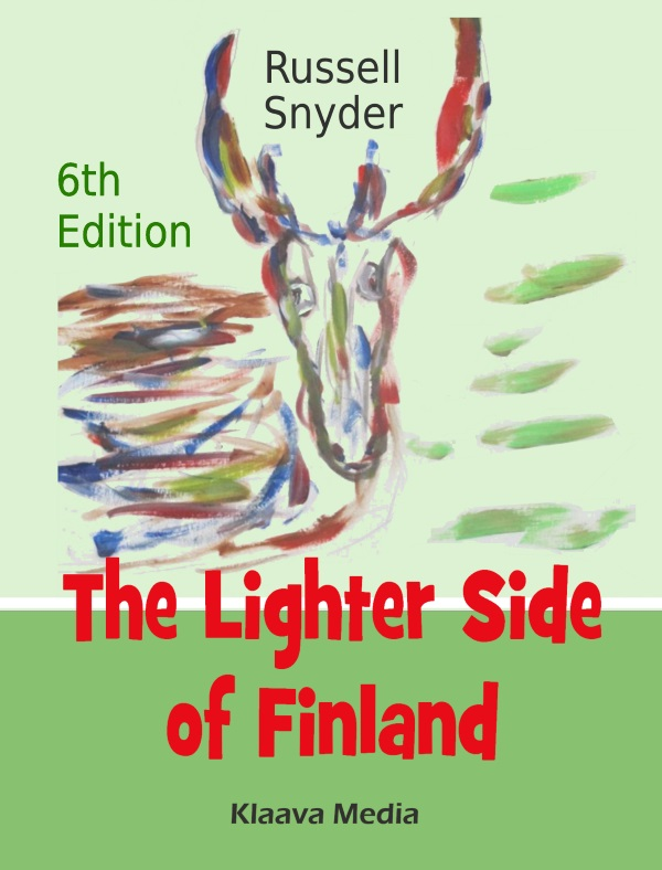 kirjan kansikuva: THe Lighter Side of Finland