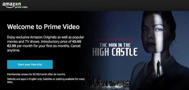 Amazon Prime Video login