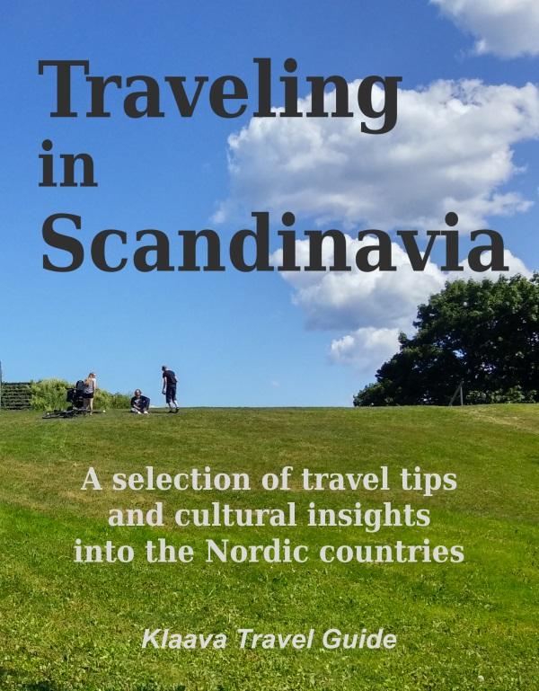 kirjan kansikuva: Traveling in Scandinavia