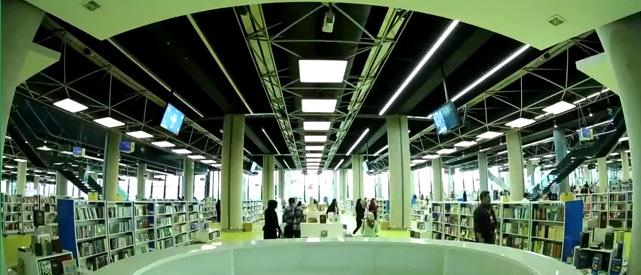 Book Garden kirjakauppa, Teheran, Iran