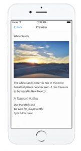 Simplenote älypuhelimessa (iPhone)
