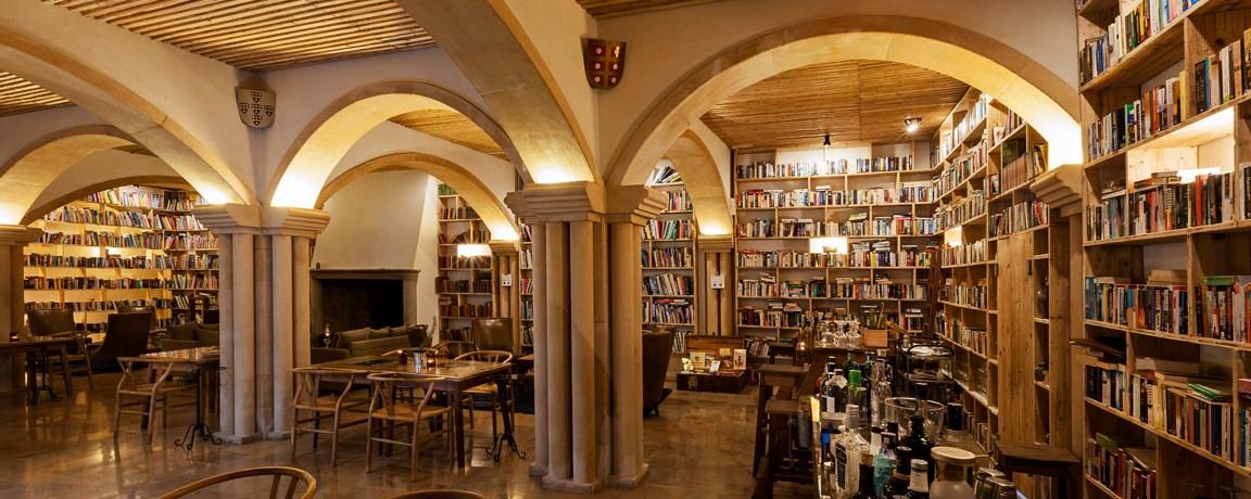 hotelli LIterary Man Portugalissa, Obidos