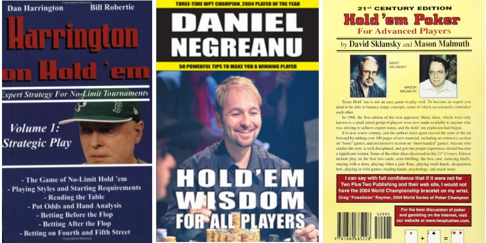 poker books, cover images