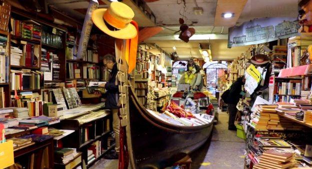 Venetsia, Acqua Alta kirjakauppa