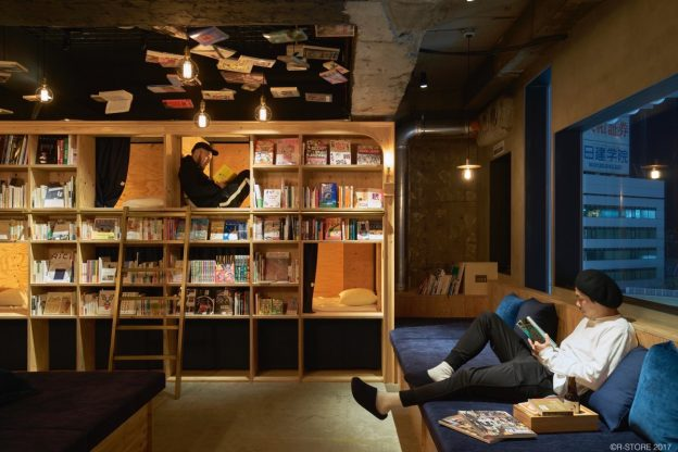 Book and Bed hostel, Tokio
