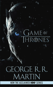 kirjan kansi: Game of Thrones