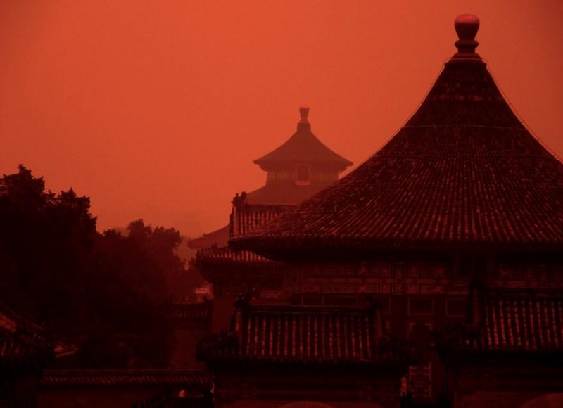 kiinalaisia palatseja.  Kuva: Pixabay, levifraser0