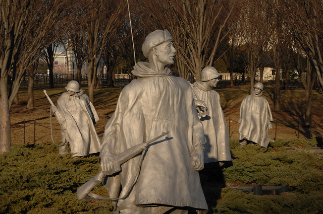 Korean sodan muistomerkki, Washington DC