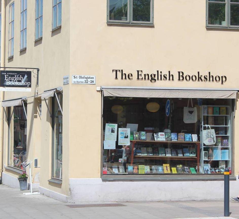 Ruotsi, Uppsala. Kirjakauppa English Bookstore
