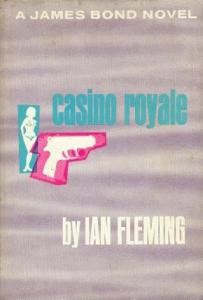 Casino ROyale, kirjan kansikuva