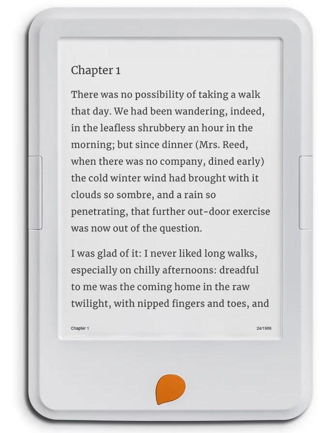 Storytel Reader lukulaite sähkökirjoille