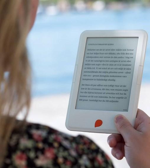 Storytel Reader e-kirjojen lukulaite
