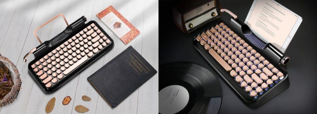 Rymek näppäimistö kuin mekaaninen kirjoituskone