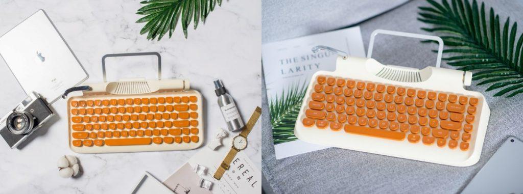 Rymek kirjoituskone-näppäimistö