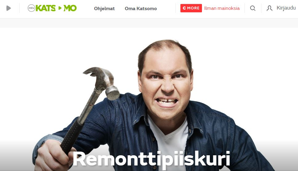 MTV Katsomo streaming internet tv
