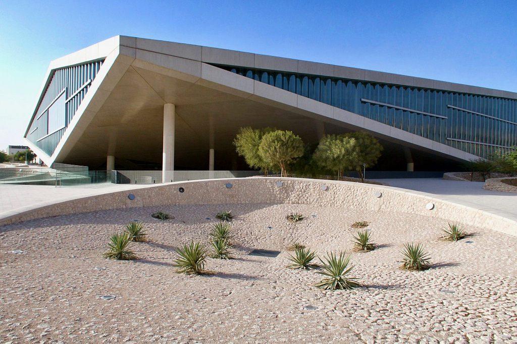Qatarin kansalliskirjasto. kuva Arend  Kuester.