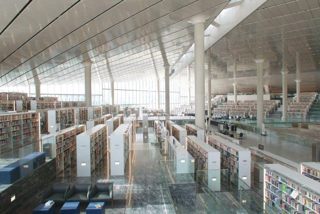 Qatar, kansalliskirjasto. Kuva Arend Kuester.