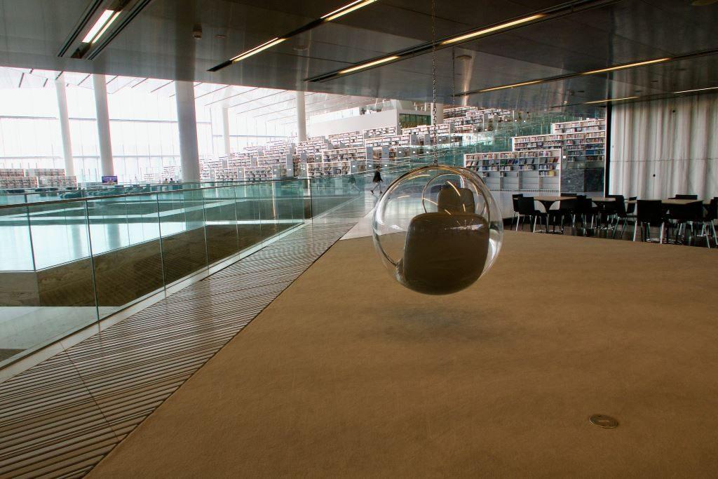 Qatar, Doha kirjasto. Kuva Arend Kuester.