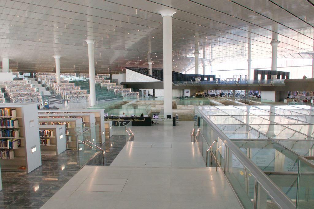 Doha, Qatar. kirjasto. kuva Arend Kuester.