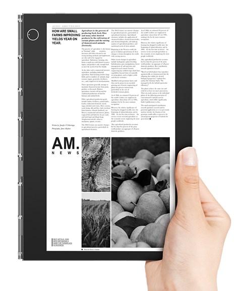 Lenovo YOga Book C930 lukulaitteena