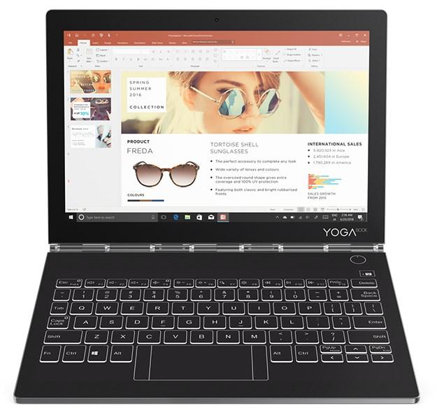 Lenovo Yoga Book C930 kannettavana tietokoneena
