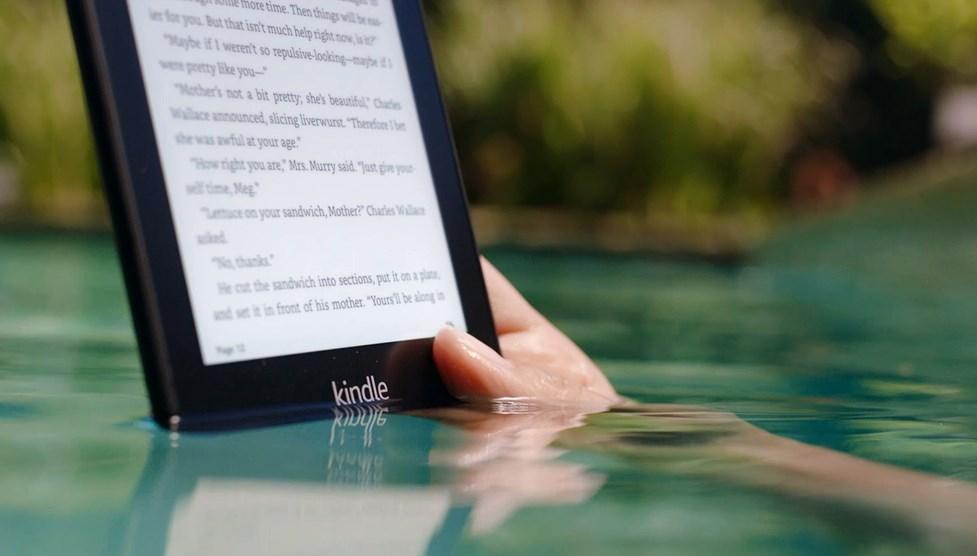 Amazon Kindle Paperwhite, vedenpitävä lukulaite